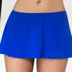 Profile by Gottex Slimming Sapphire Blue SwimSkirt